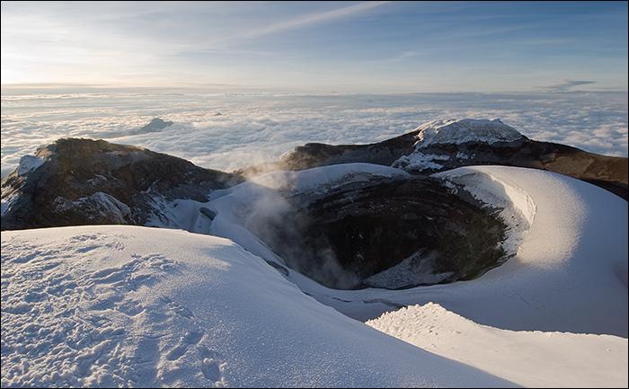 Vuelos Ecuador: Volcan Tungurahua
